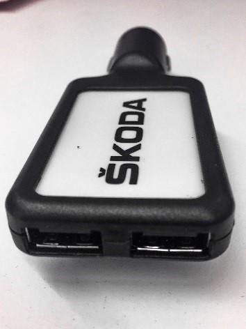 SKODA LUMINA LATURI 2 X USB